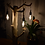 Thumbnail: wooden juniper trunk table lamp ▸ with Edison LED