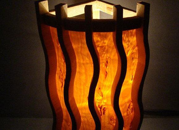 wooden wall/sauna lamp ▸ made with birch veneer