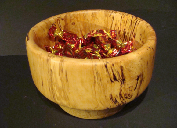 Confectionery bowl ▸ made of curly birch 2