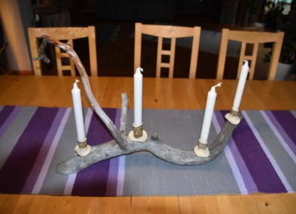 Beautiful candle holder ▸ Sami style