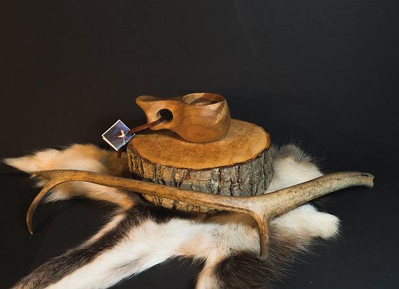Junior Kuksa 5 ▸ wooden cup - 120 ml/4 oz