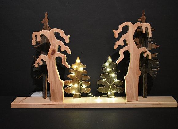 Fensterschmuck für Advent/Window decorations for Advent