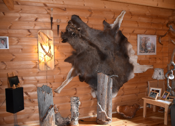 Moose fur ▸ huge fur from Lappland