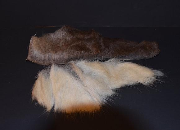 Reindeer skin sections 23/Abschnitt von Rentierfell 23