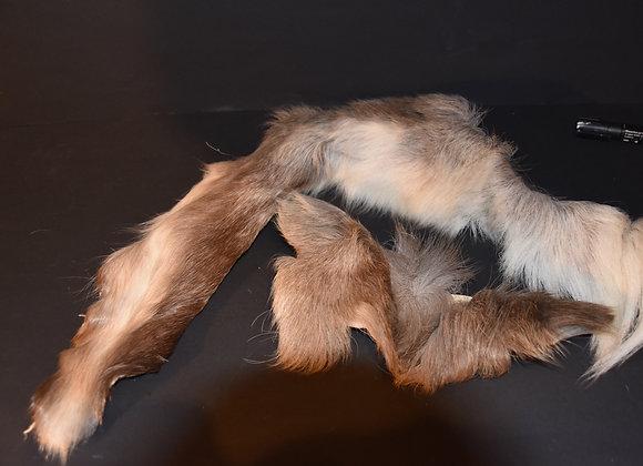 Reindeer skin sections 24/Abschnitt von Rentierfell 24