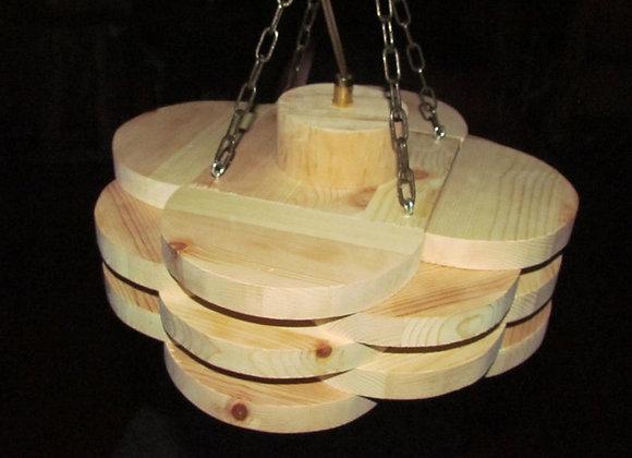 """Wooden hanging lamp - Scandinavian ▸ """"Pori"""""""