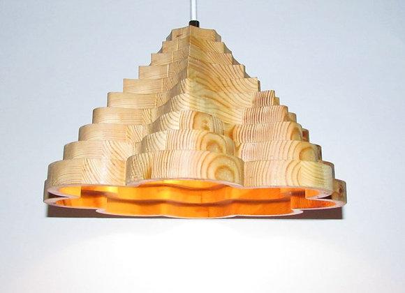 "Wooden hanging lamp - Scandinavian ▸ ""Kuusamo"""