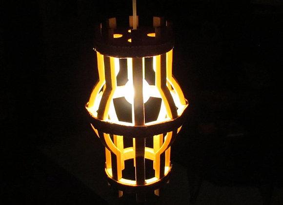 "Wooden hanging lamp ▸""Helsinki"""
