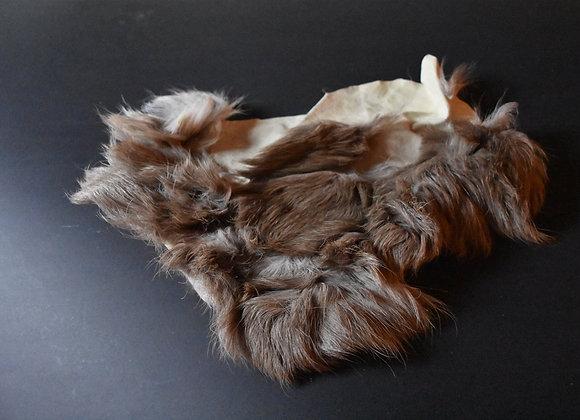 Reindeer skin sections 2/Abschnitt von Rentierfell 2