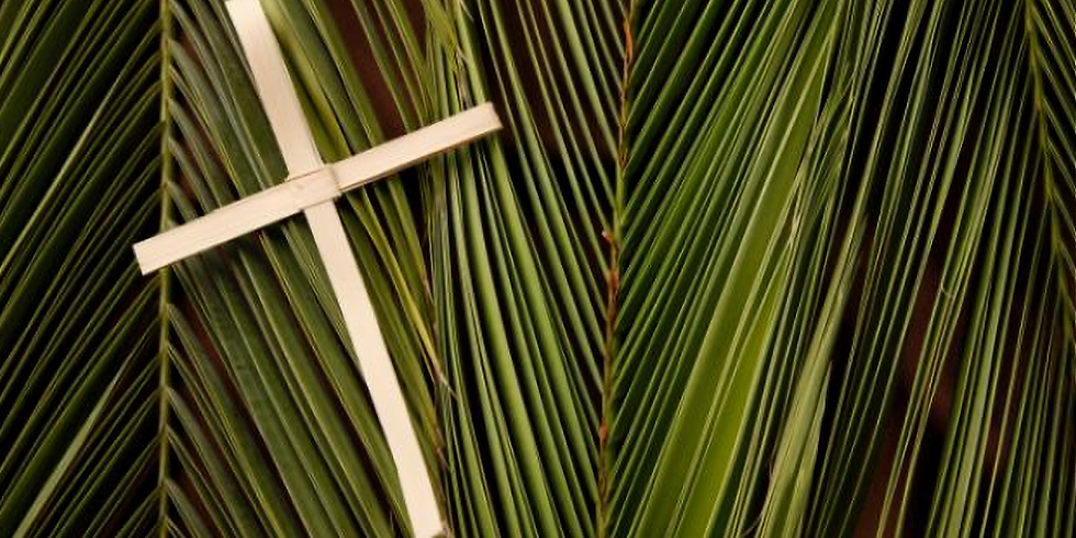 Virtual Palm Sunday Service