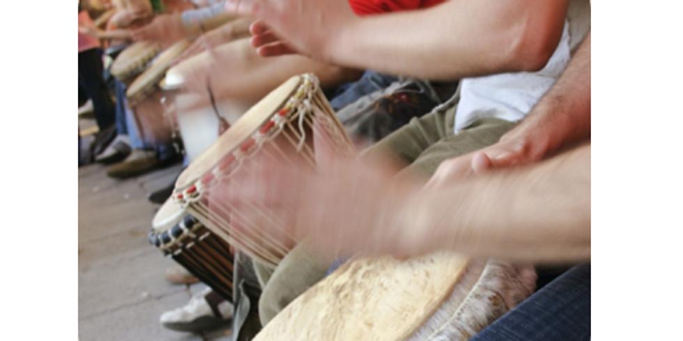 Inter-generational Drumming Circle Workshop