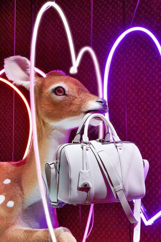 Escaparate Louis Vuitton San Valentín