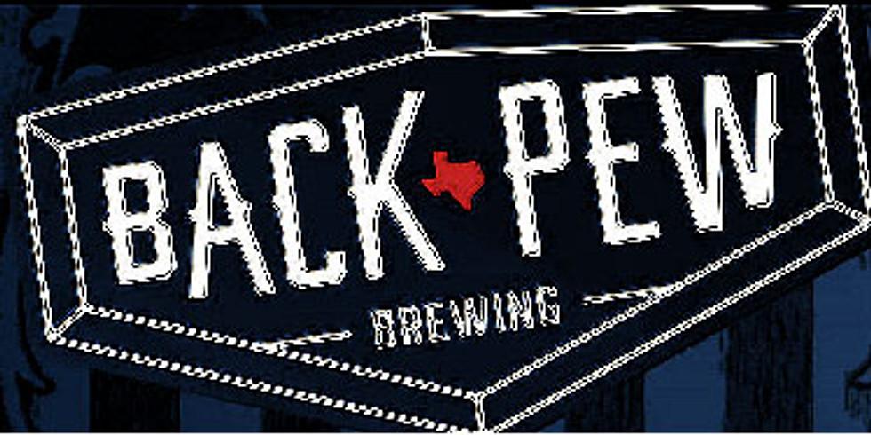 Back Pew Brewing OctoberFest - October 3rd
