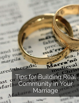 Tips for Building Real Community in Your