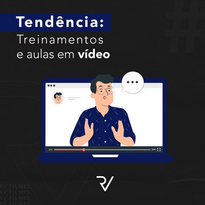 Treinamentos e aulas em vídeo