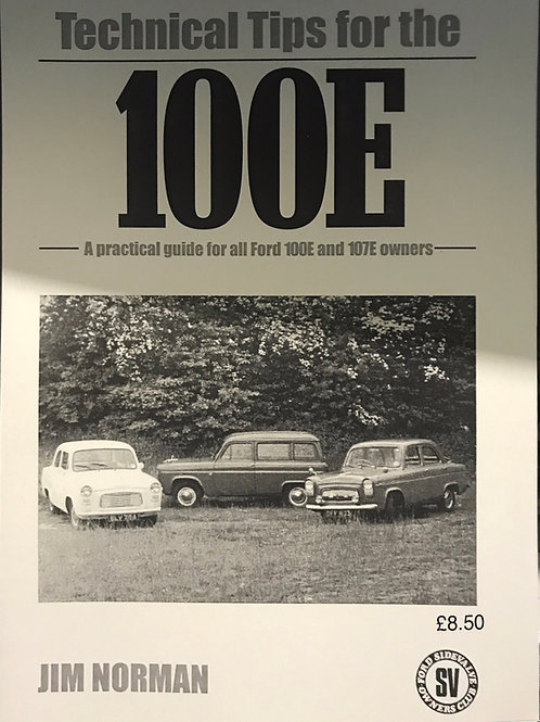 """R - (10) 100E manual """"Technical tips for the 100e""""  by Jim Norman"""