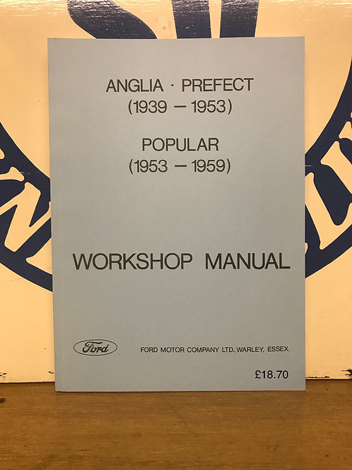 R - (12) Upright Workshop Manual (reprint) as shown