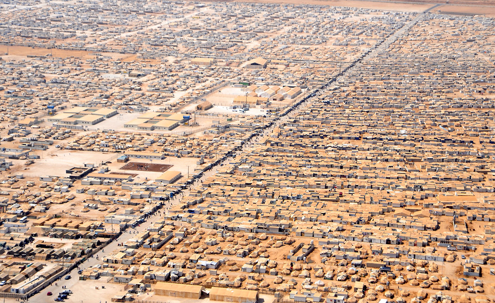 US DOS: commons.wikimedia.org/wiki/File:An_Aerial_View_of_the_Za%27atri_Refugee_Camp.jpg