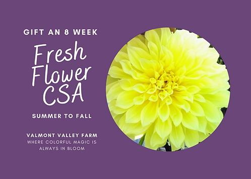 Gift Certificate 2022 Summer & Fall CSA