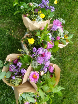 Weekly CSA Wrapped Bouquets