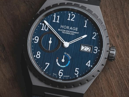 SCOTTISH WATCHES: Introducing The Horage Autark Generation 2