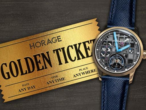 城邦國際名錶:更具價值的提升 HORAGE陀飛輪玫瑰金款