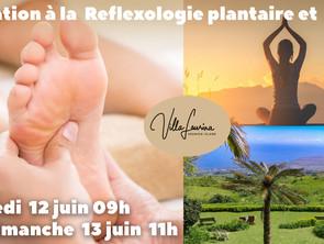 Stage Initiation Réflexologie Plantaire et Yoga