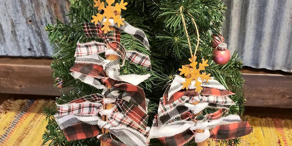 Mini Tree Ornament Craft - Sunday November 29th @ 2 PM