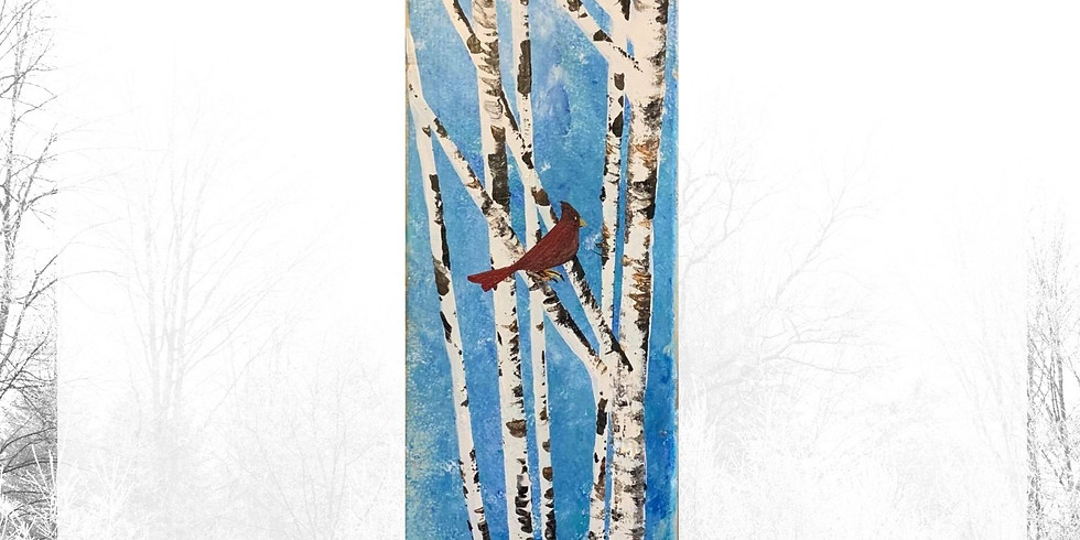 Paint on Wood Class - Friday, February 12th @ 6 pm