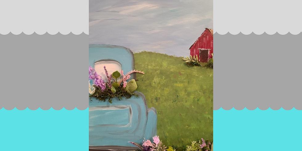Mixed Media Painting - Friday, April 16th @ 6 pm