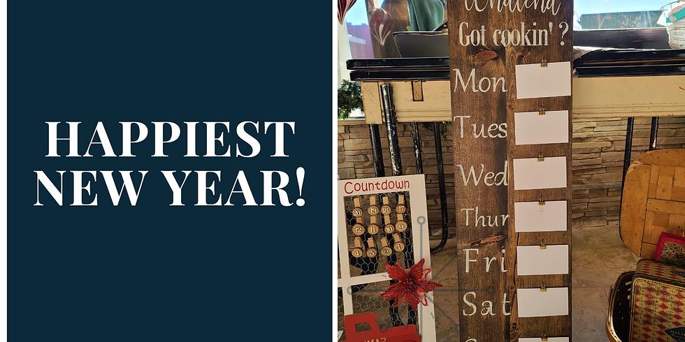 Weekly Menu Board - Friday, January 1st @ 2 pm