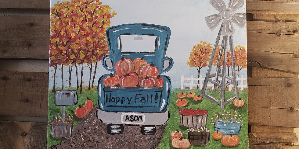 Paint Class - Saturday, October 17th @ 4 pm
