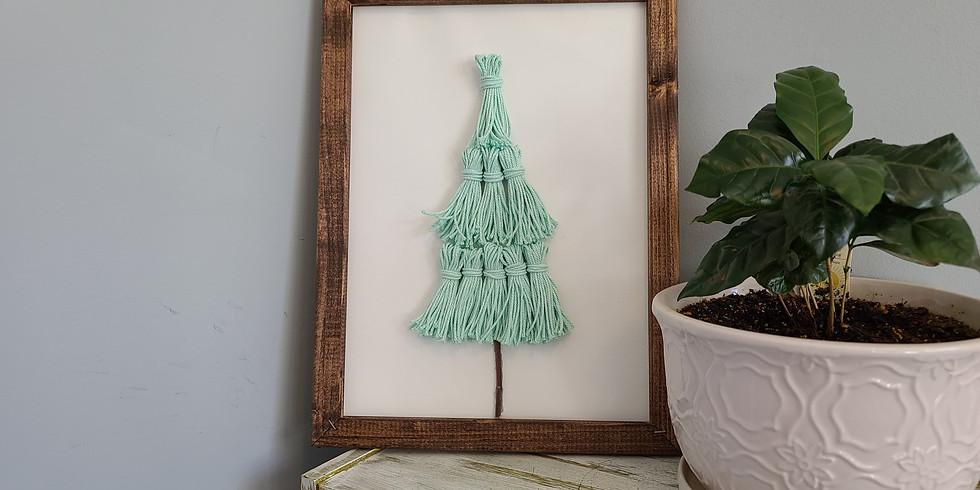 Reverse Canvas Tree Craft - Tuesday, November 24th @ 6 PM