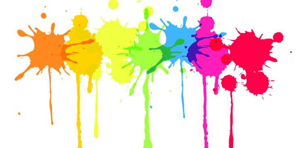 Kids Freestyle Paint Class - Saturday, April 17th @ 11 AM