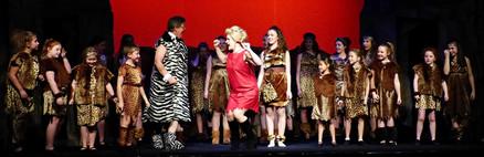 Act 1 Scene 9 - Mayor Ruby and Amber and chorus.JPG