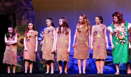 Act 1 Scene 13 - Azdak and Chorus line up.JPG
