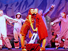 Act 2 Scene 4 - Amber Flint and Rock People song end.JPG
