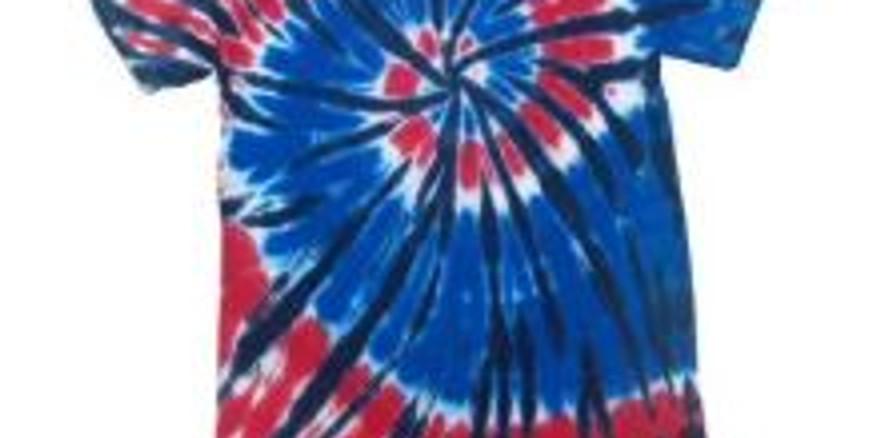 Tie Dye T-Shirts Activity - Pre-4th BBQ!