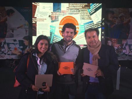 C.Abud & Cía en ceremonia 50 casos de innovación CORFO