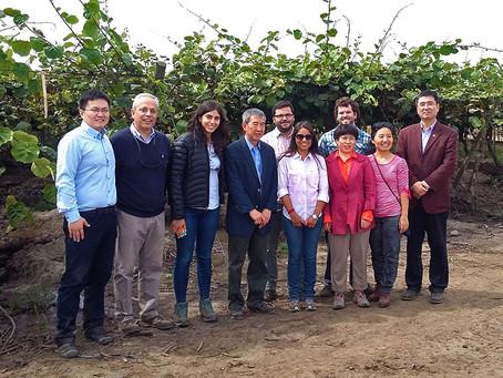 Visita de Delegación China