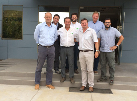 Visita de Zespri a C.Abud & Cía.