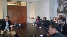 Dr. Jinhu Wu visits C. Abud & Cia
