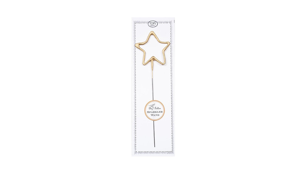 Big Gold Star Sparkler
