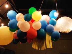 Summer fun birthday balloons