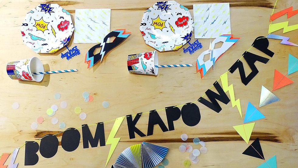 Zap Wham Bang! - Party Kit