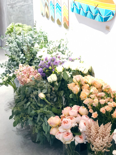 Flower arrangment workshop x sweet bloom
