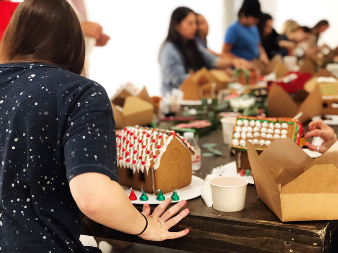 Gingerbread house competition