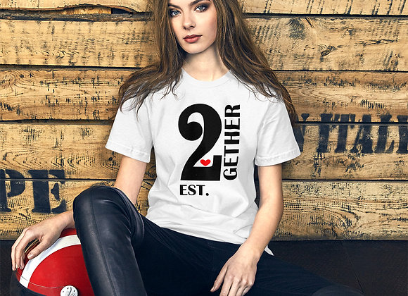 2Gether Short-Sleeve T-Shirt for Ladies