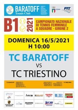 Tennis Club Baratoff - B1 2021 Locandina