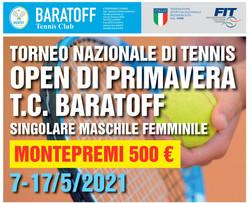 Open di tennis Tc Baratoff